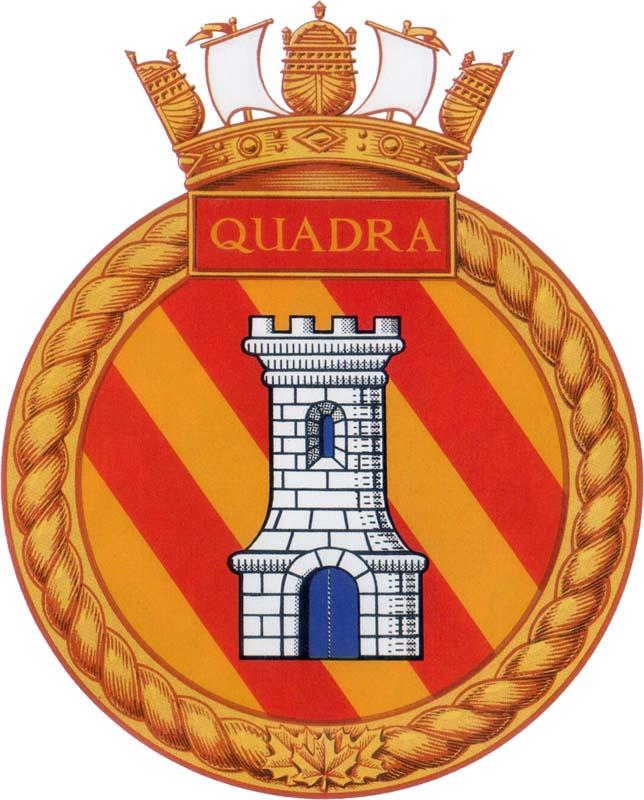 HMCS QUADRA Badge