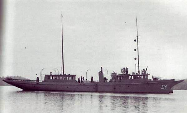 HMCS GRIZZLY (1st)