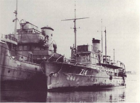 HMCS MOOSE (1st)