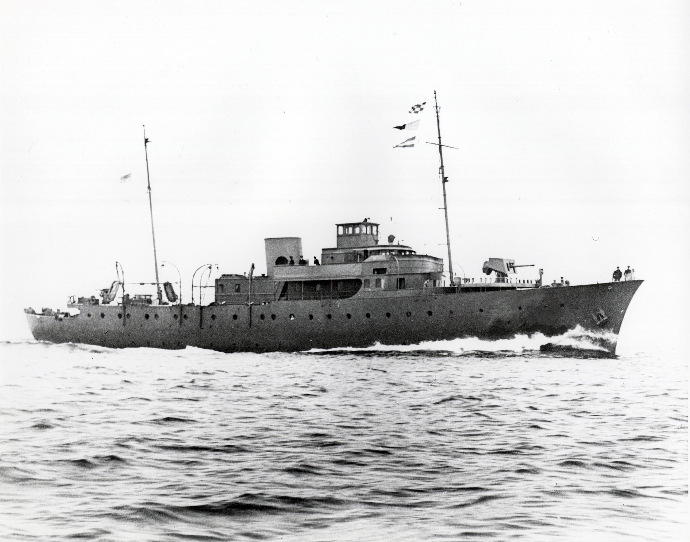 HMCS SANS PEUR