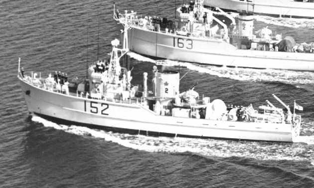 HMCS JAMES BAY