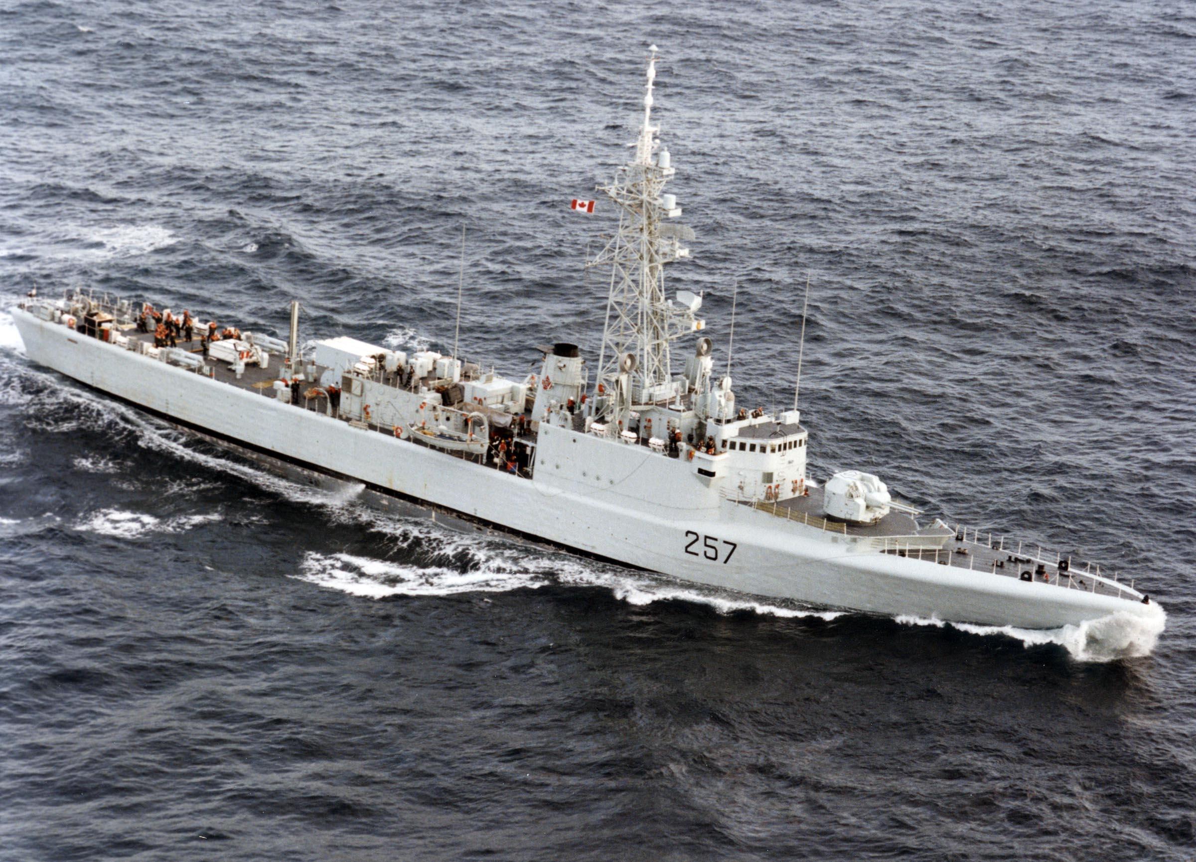 HMCS RESTIGOUCHE (2nd)