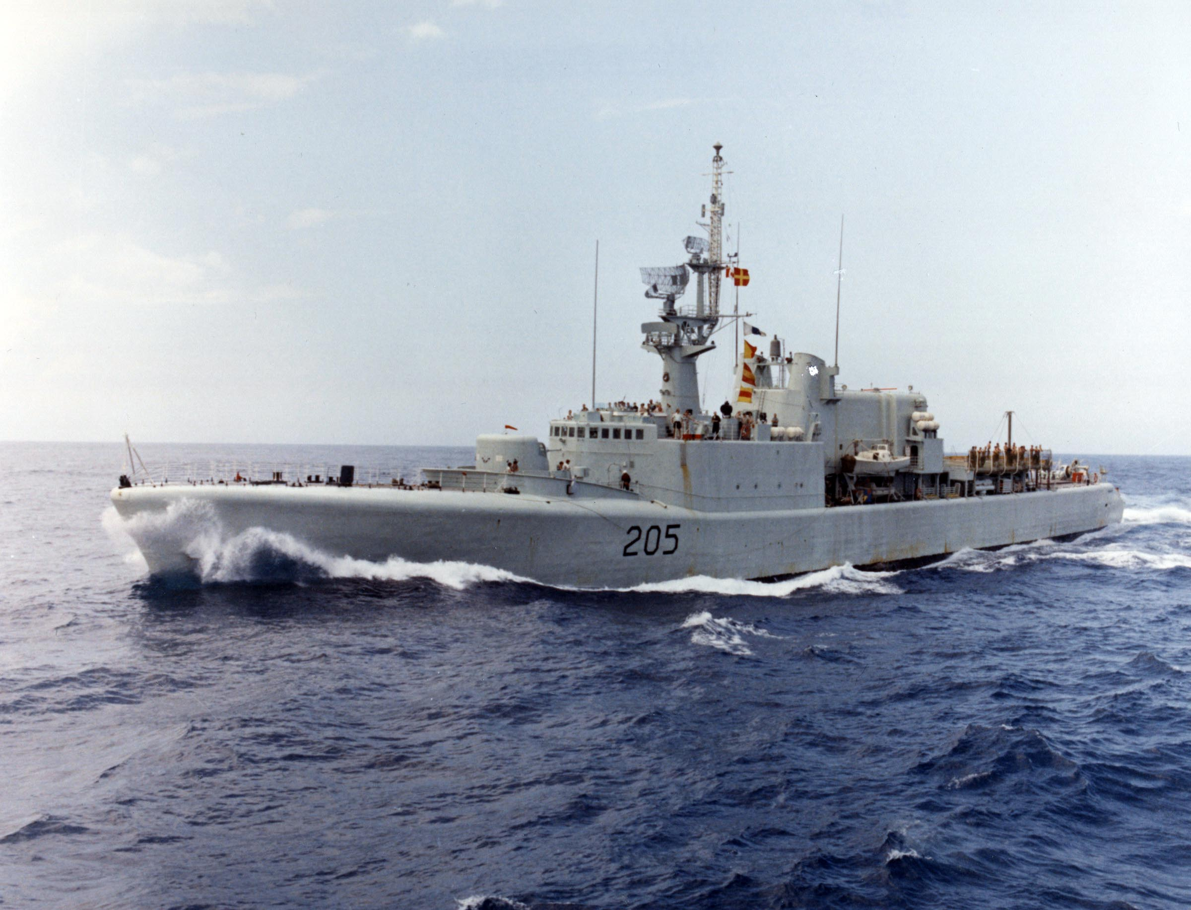 HMCS ST. LAURENT (2nd)
