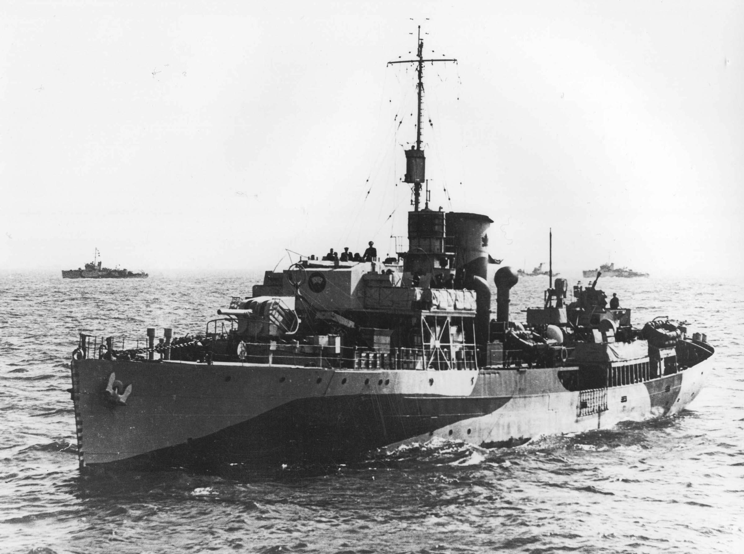 HMCS BADDECK