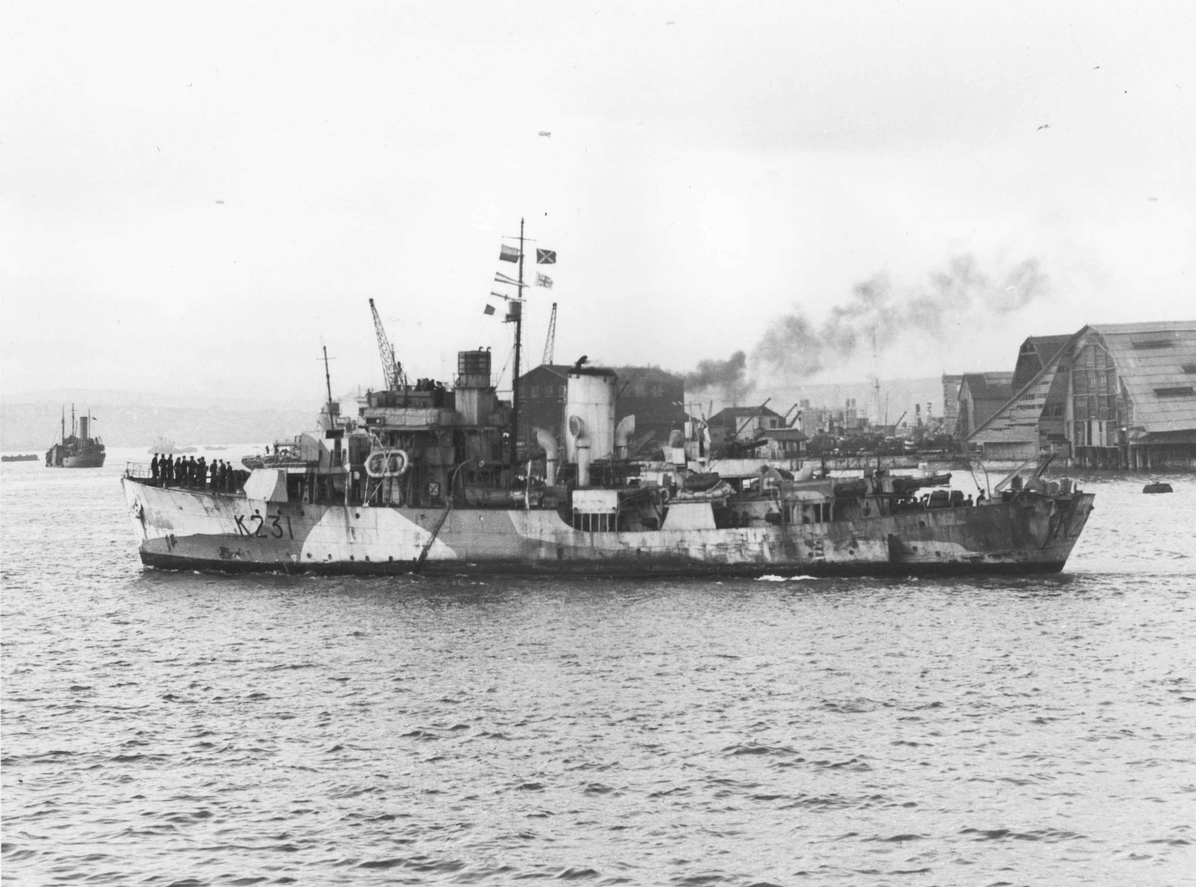 HMCS CALGARY (1st)