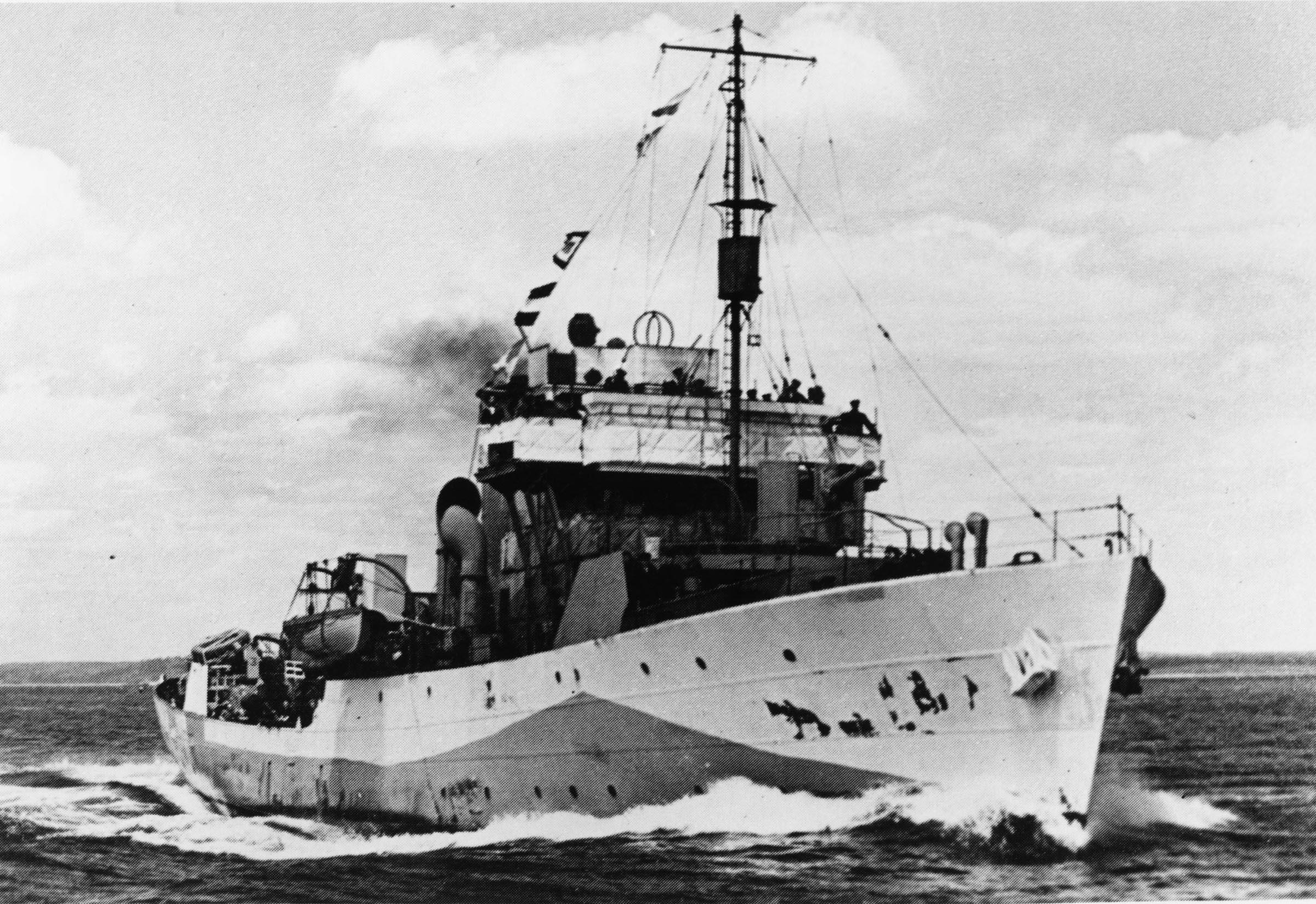 HMCS REGINA (1st)