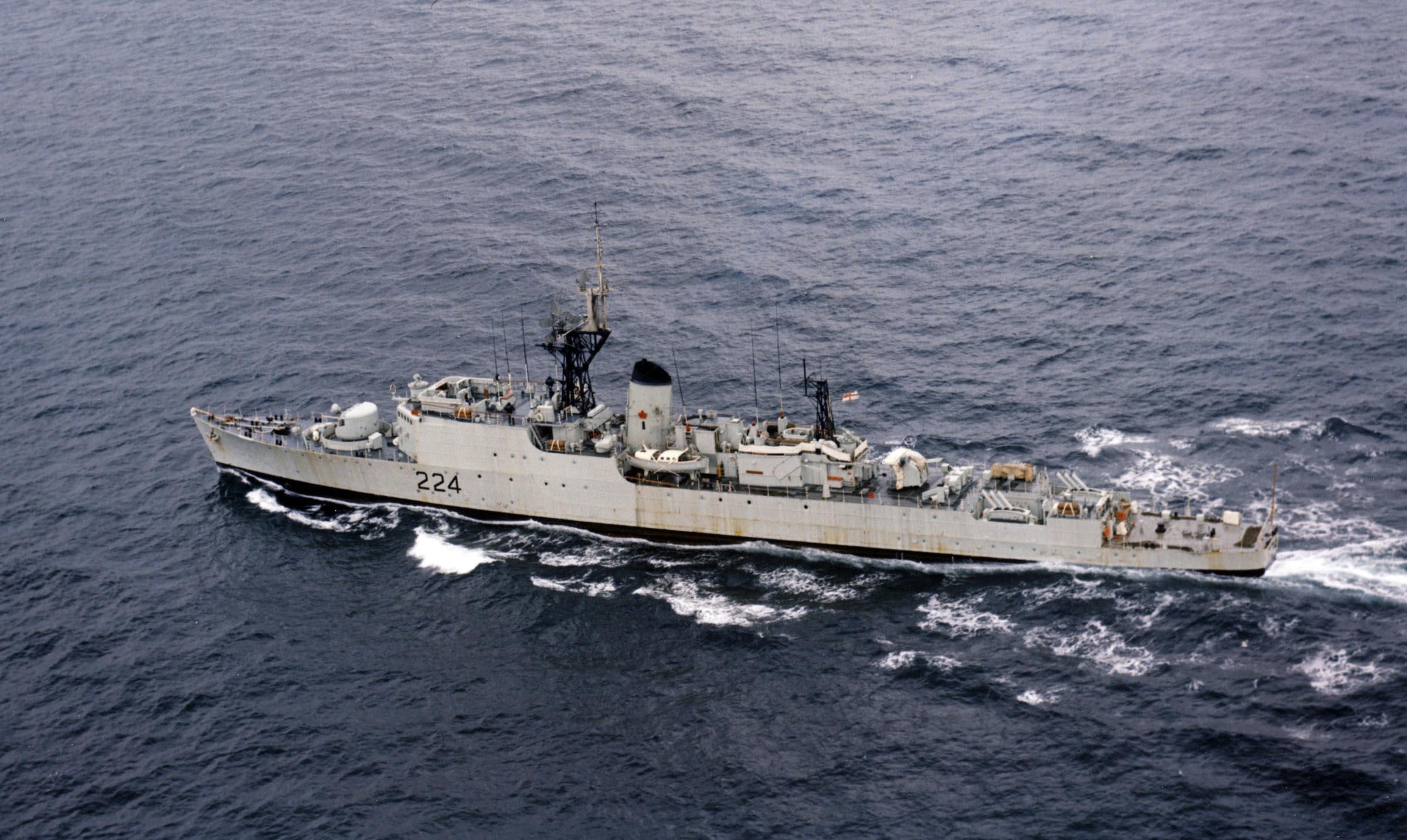 HMCS ALGONQUIN (1st)