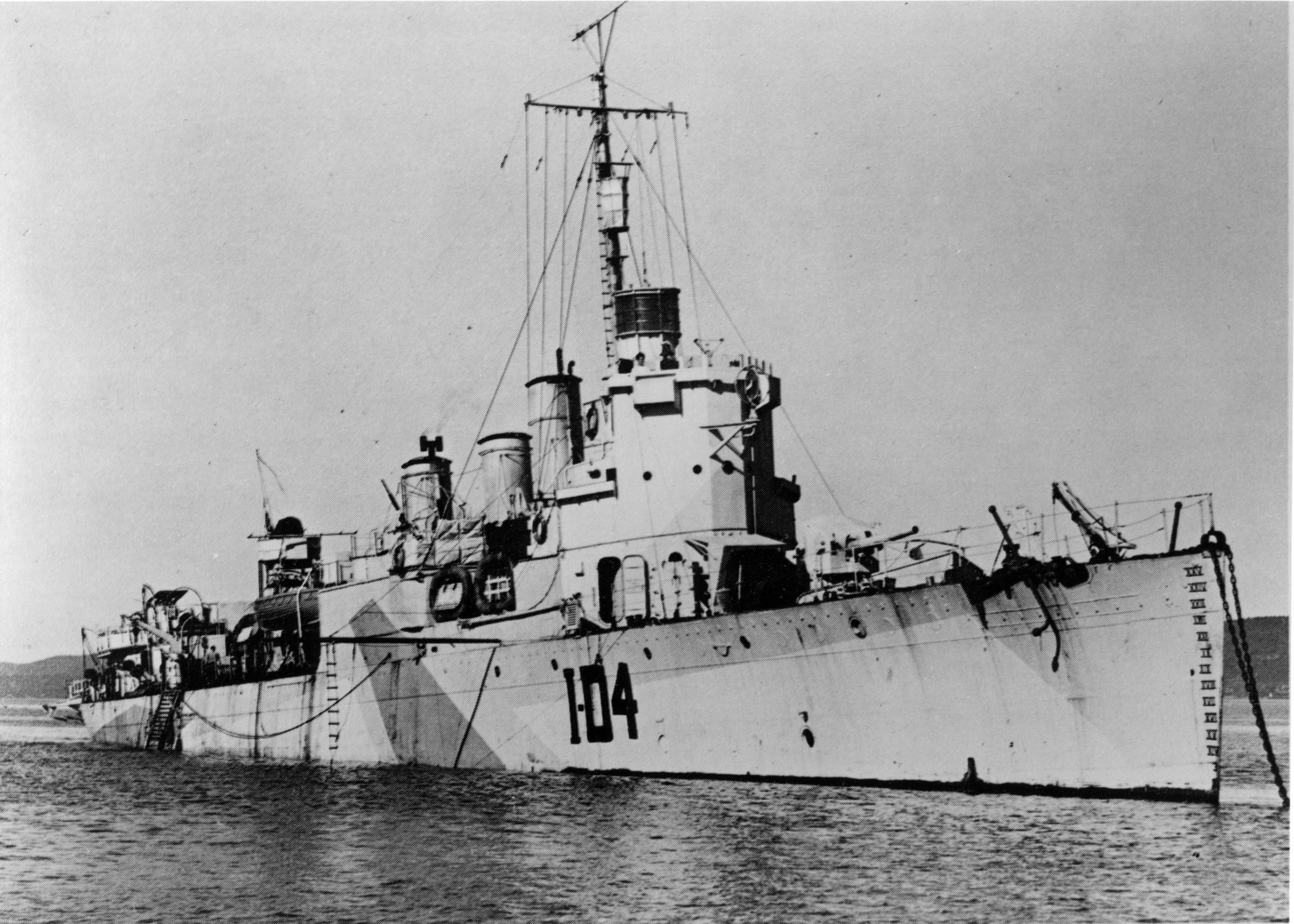 HMCS ANNAPOLIS (1st)