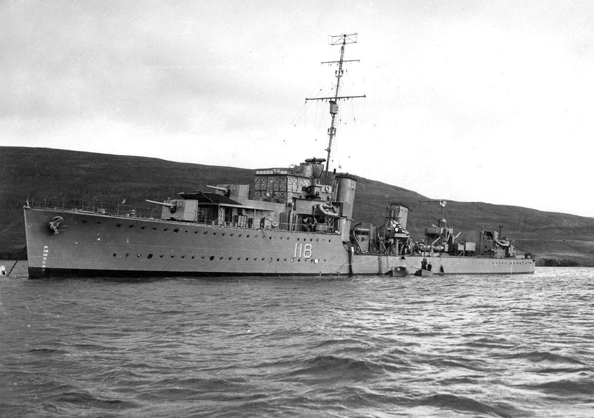HMCS ASSINIBOINE (1st)