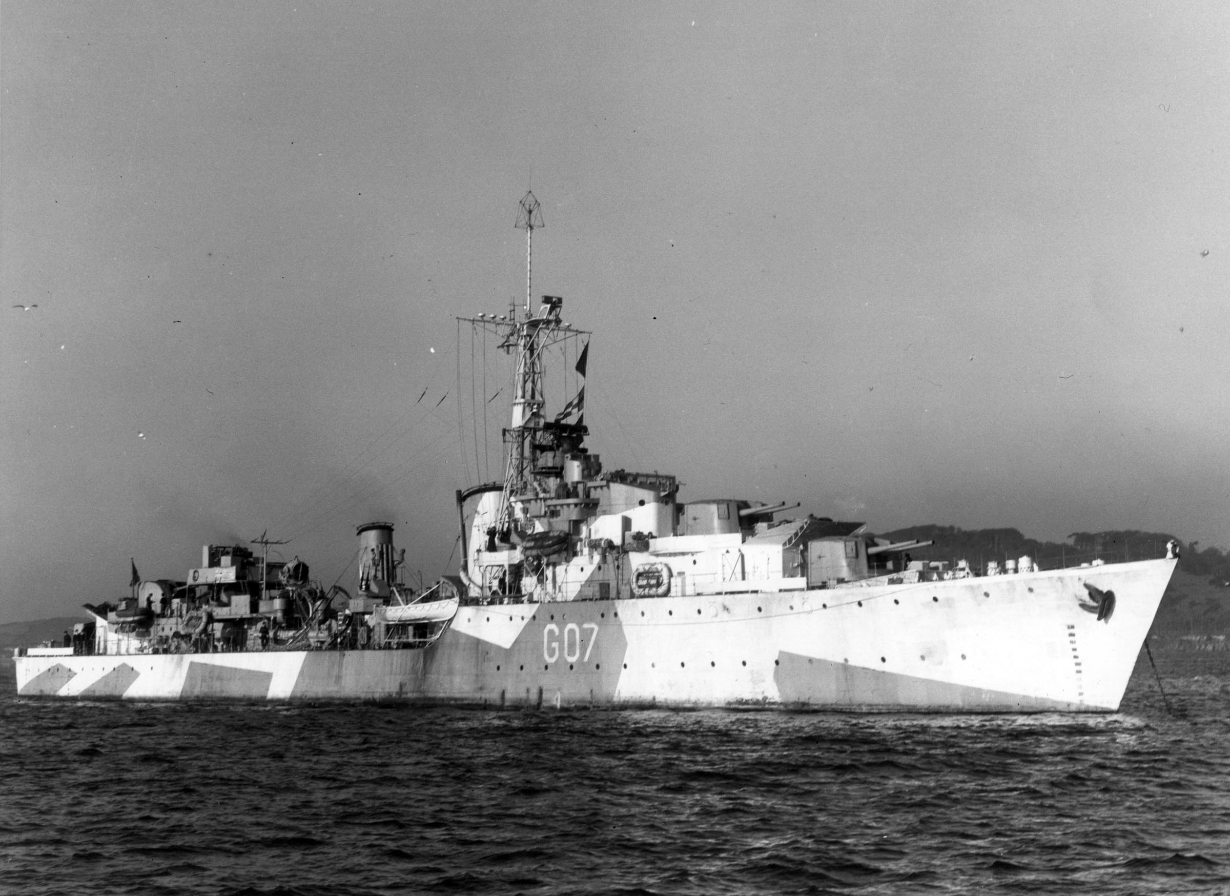 HMCS ATHABASKAN (1st)