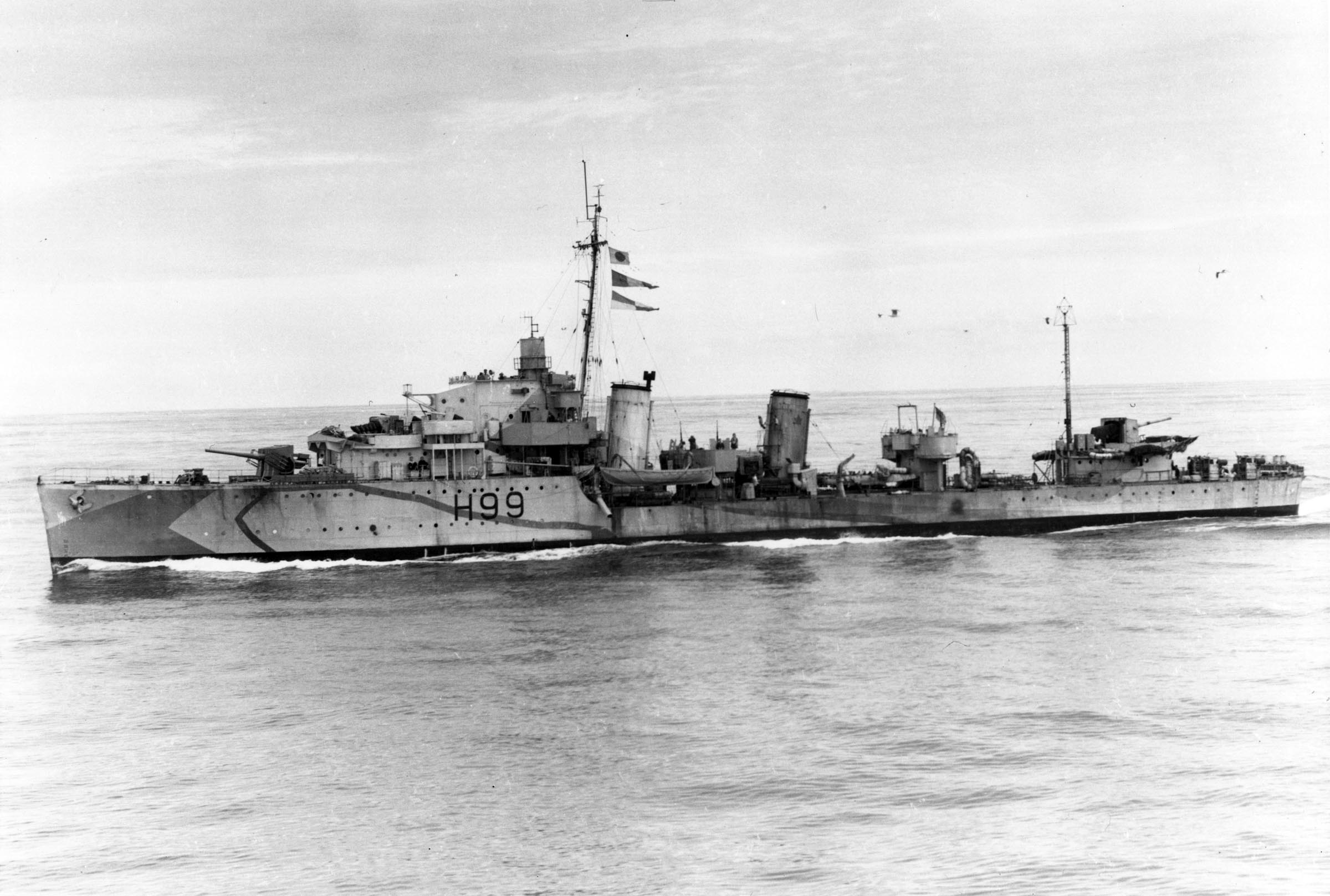HMCS CHAUDIERE (1st)