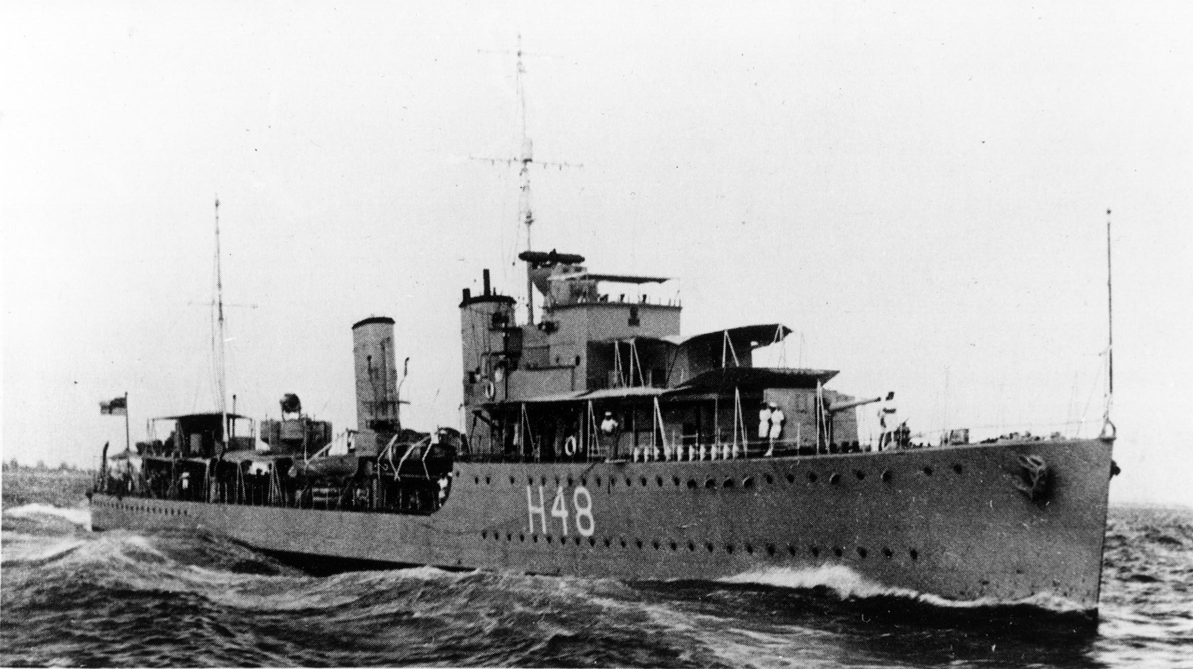 HMCS FRASER (1st)
