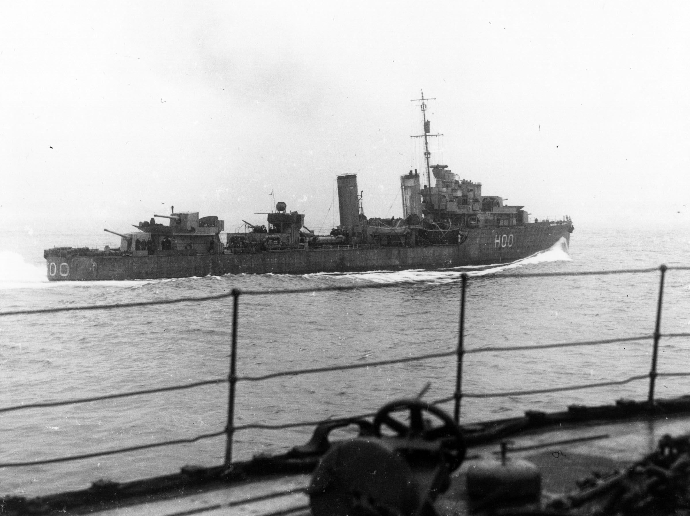 HMCS RESTIGOUCHE (1st)