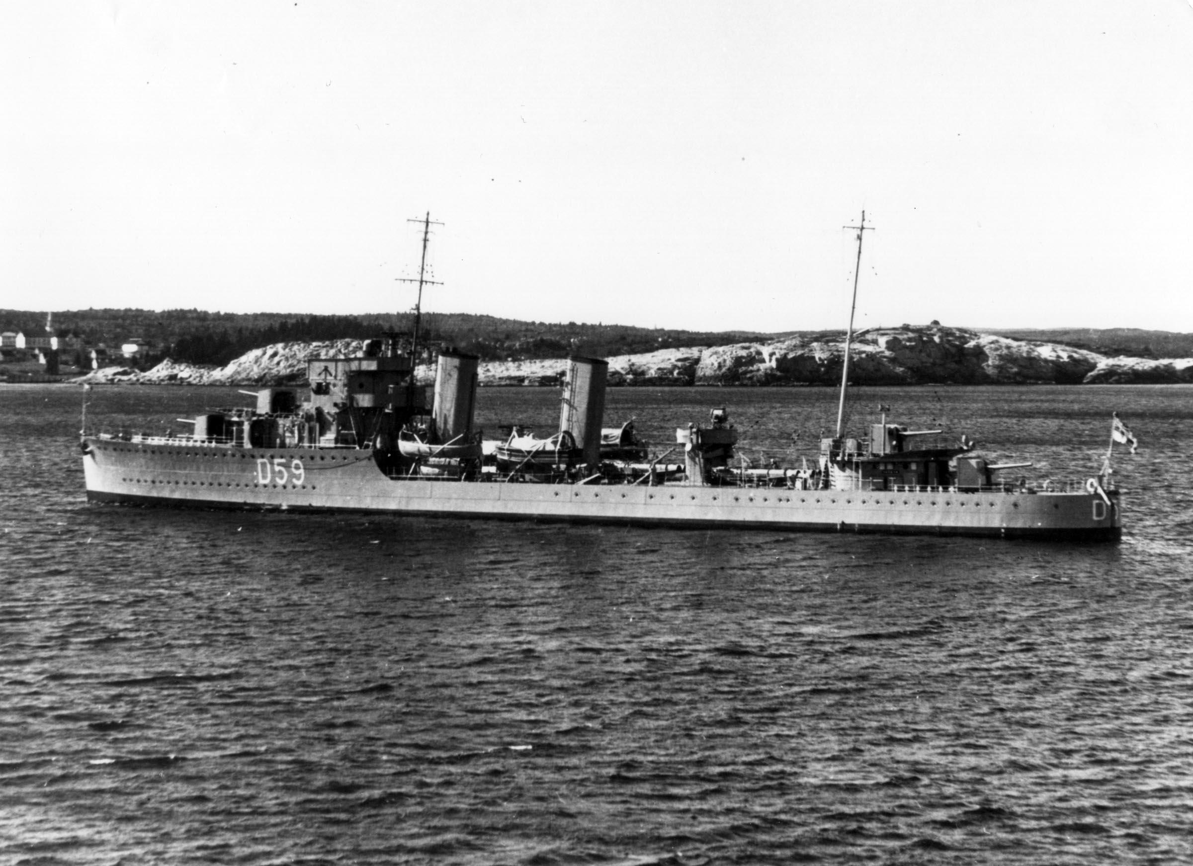 HMCS SKEENA (1st)