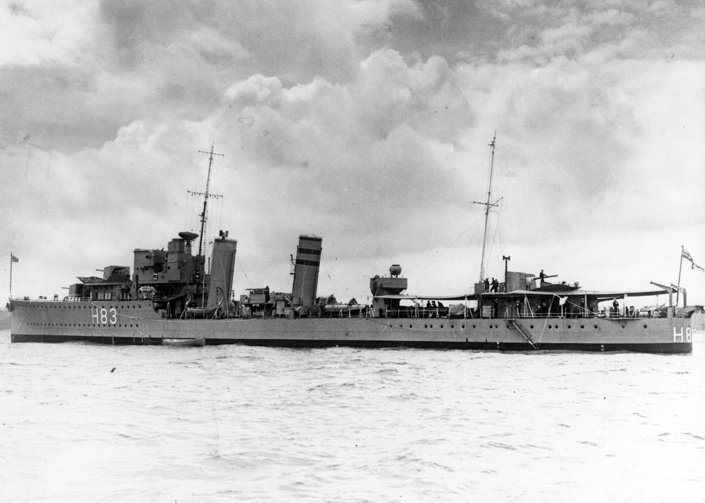 HMCS ST. LAURENT (1st)