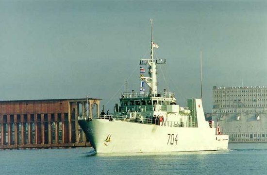 HMCS SHAWINIGAN (2nd)