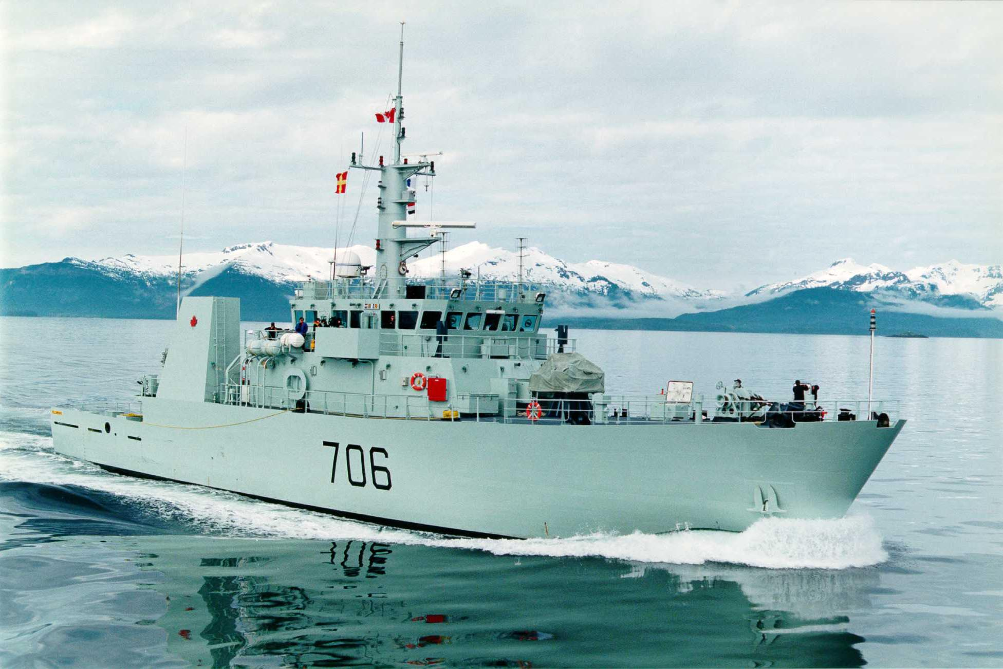 HMCS YELLOWKNIFE