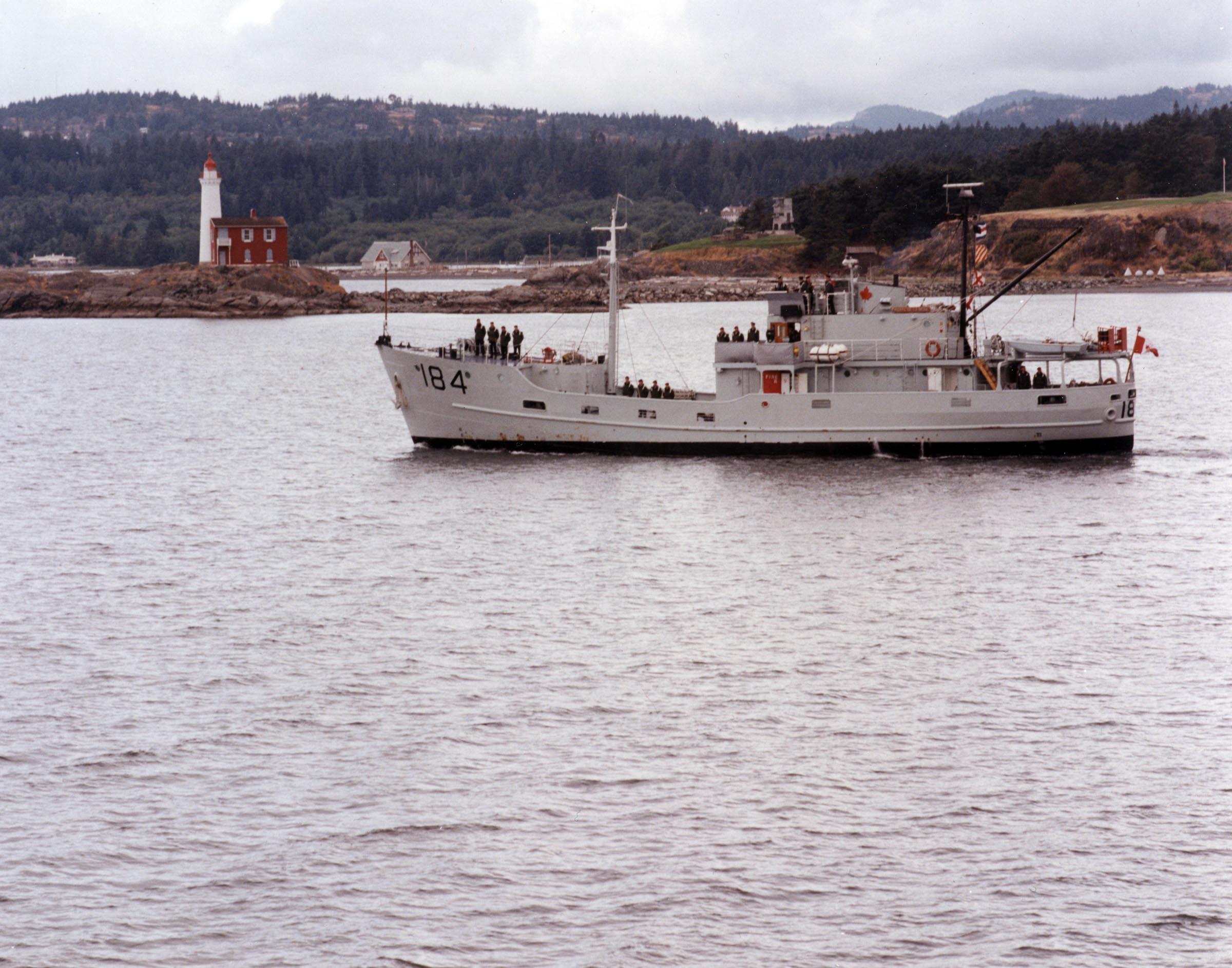 HMCS PORTE DE LA REINE