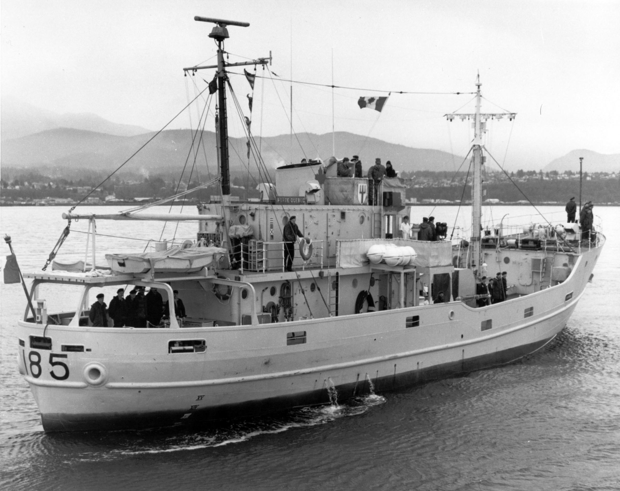 HMCS PORTE QUEBEC