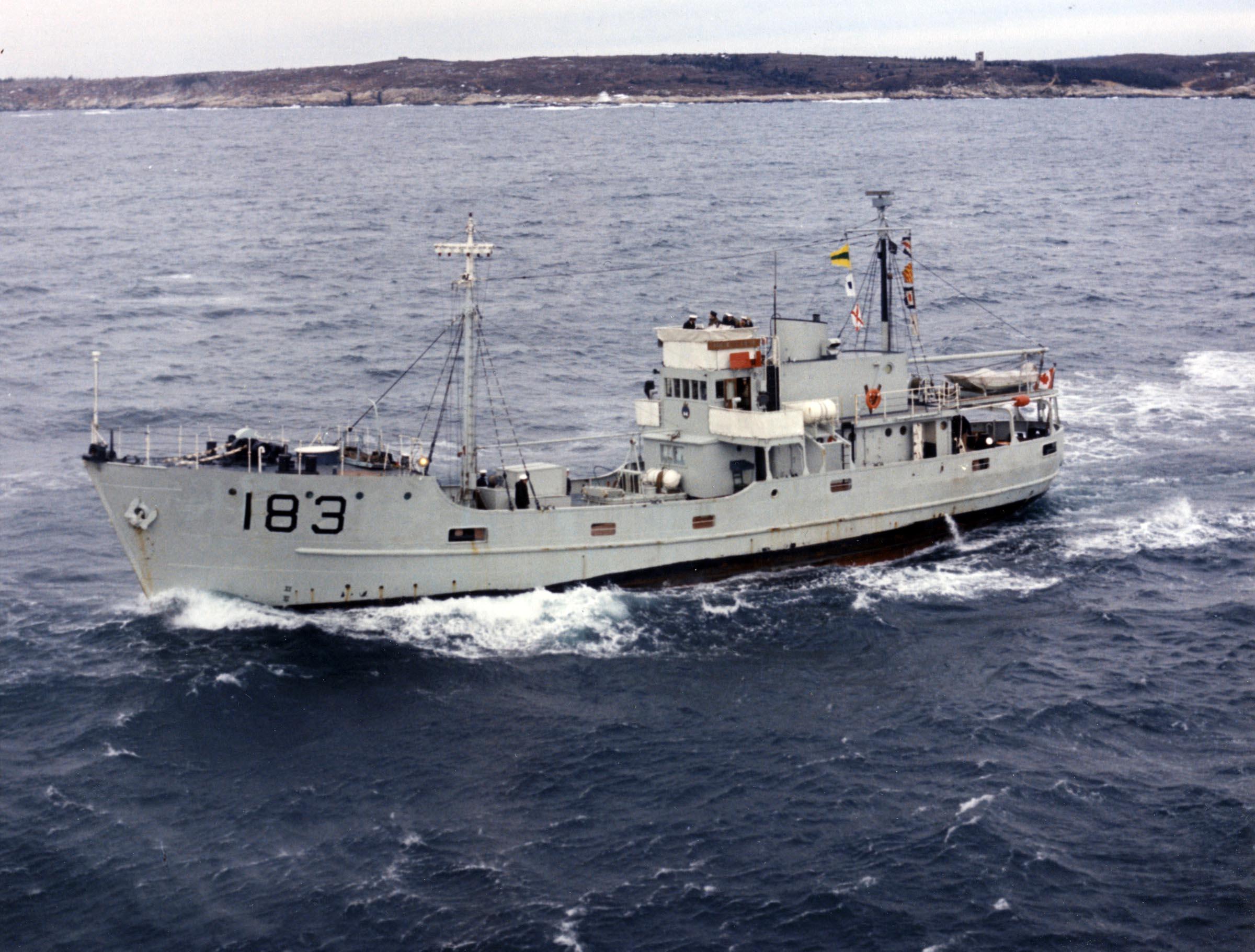 HMCS PORTE ST. LOUIS