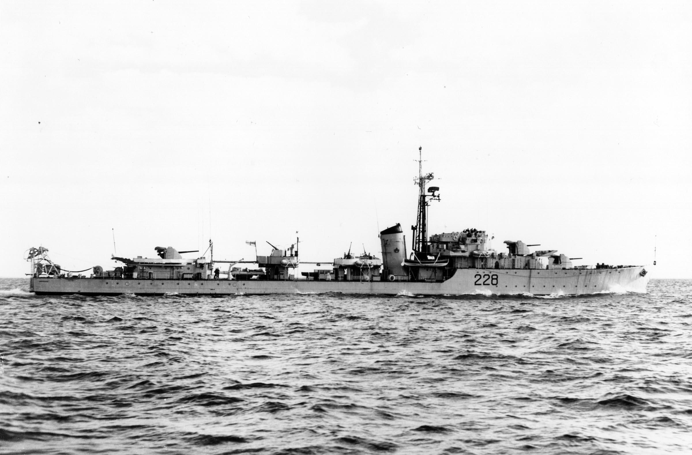 HMCS CRUSADER
