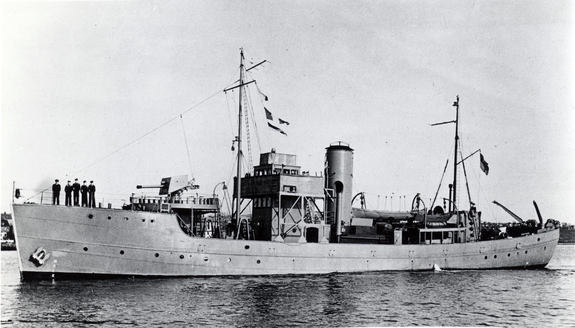 HMCS GASPE (1st)