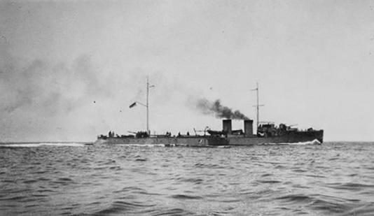 HMCS GRILSE (1st)