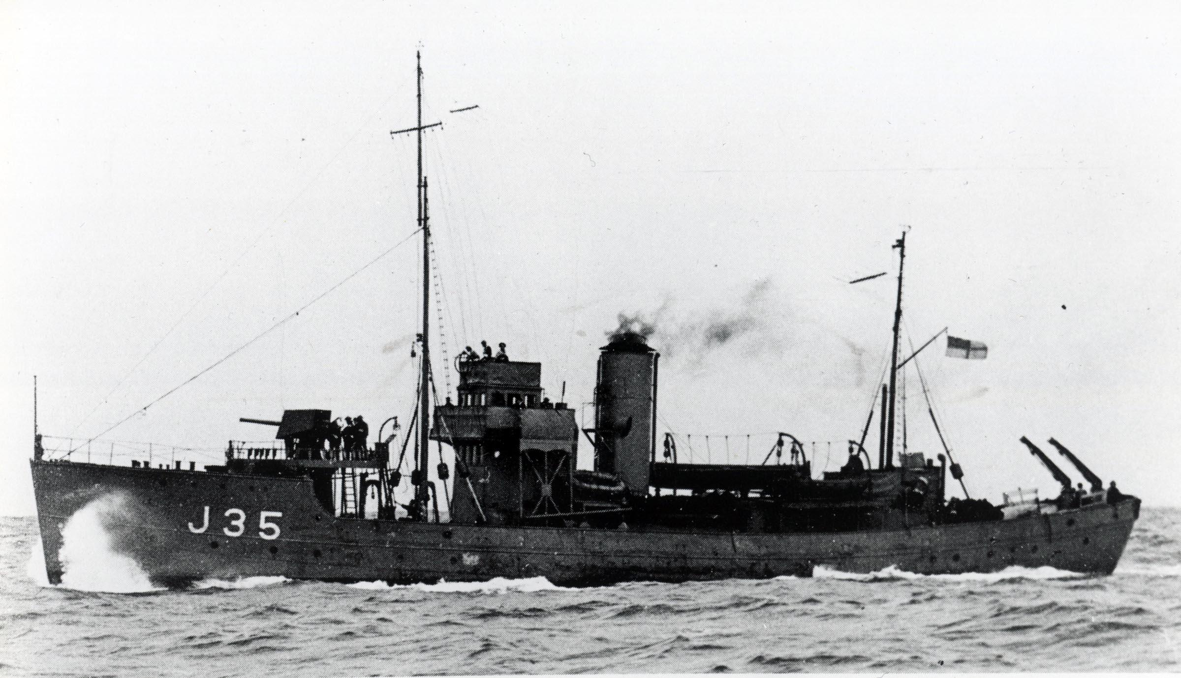 HMCS NOOTKA (1st) (HMCS NANOOSE)