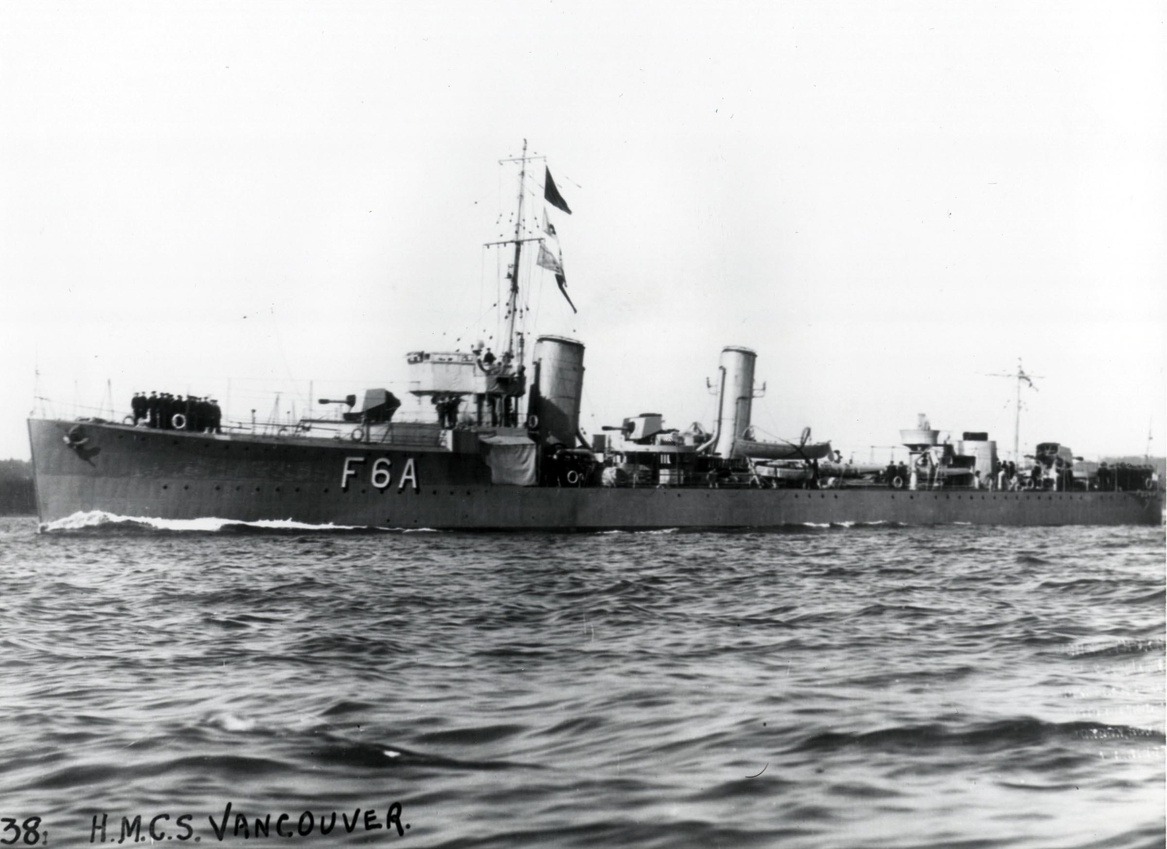 HMCS VANCOUVER (1st)